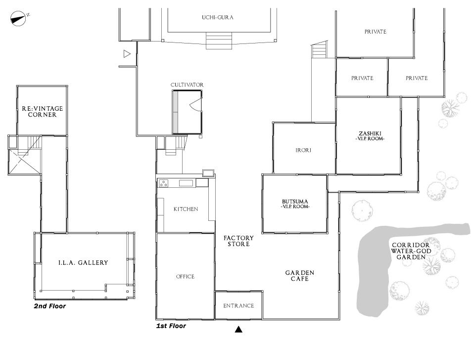 TAKAMO & Corp. Floor Map 1